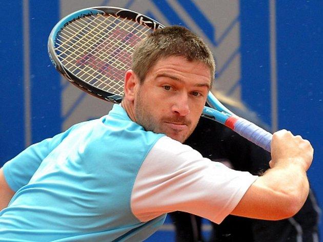 Jan Hájek ve čtvrtfinále turnaje v Mnichově.