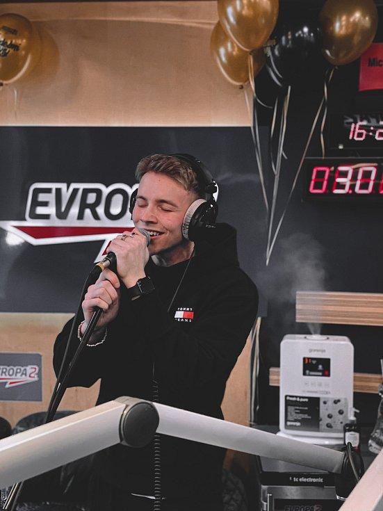 Timmy White na hudebních cenách Evropy 2
