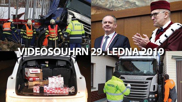 Videosouhrny Deníku – leden 2019
