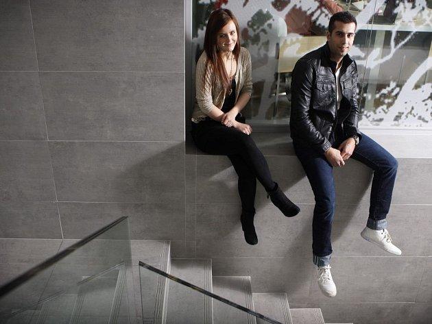 Veronika Vrublová a Michal Chrenko