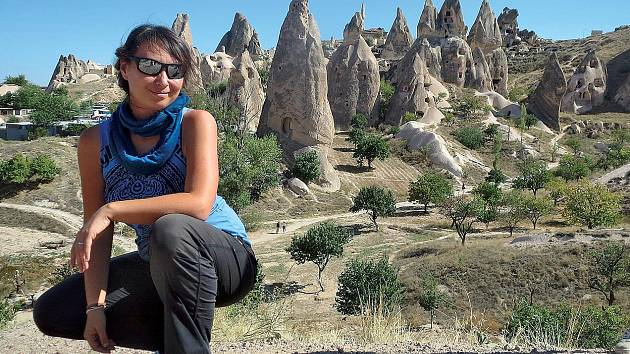 Jedním ze Zuzčiných nejoblíbenějších míst je turecká Kappadokie.