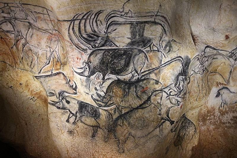 Pravěcí lovci srstnaté nosorožce opravdu znali, jak o tom svědčí například malby v jeskyni Chauvet