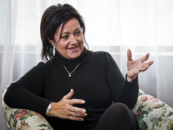 Šéfka pražské organizace hnutí ANO Radmila Kleslová.