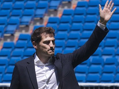 Sbohem. Iker Casillas se loučí s fanoušky Realu Madrid