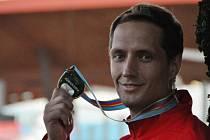 Rozšířil svou medailovou sbírku. Oštěpař Vítězslav Veselý vybojoval na ME v Curychu stříbro.