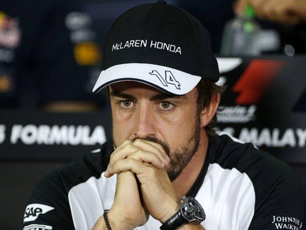 Pilot formule 1 Fernando Alonso.