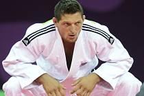Judista Lukáš Krpálek na Evropských hrách.