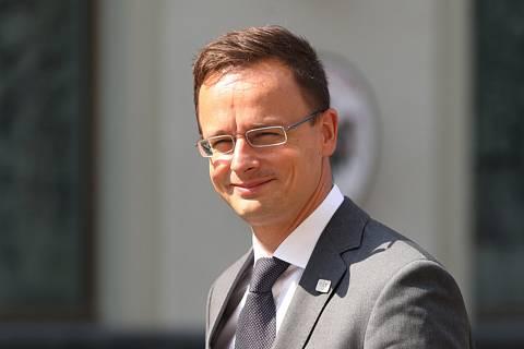 Maďarský ministr zahraničí Peter Szijjarto