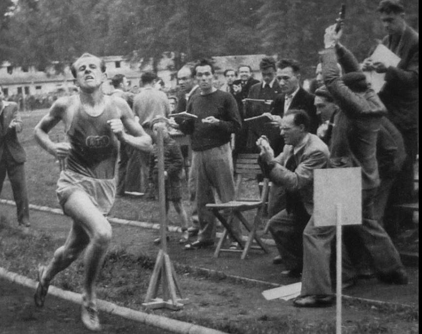 Emil Zátopek v Lipsku 1951