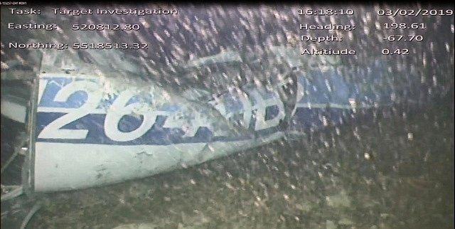 Vrak letadla, ve kterém letěl fotbalista Emiliano Sala
