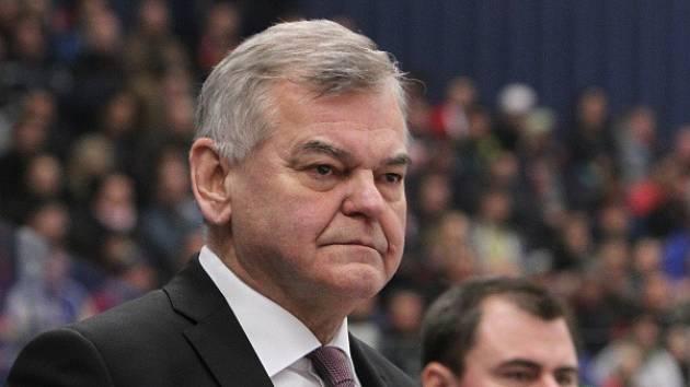 Bývalý trenér české hokejové reprezentace Vladimír Vůjtek.