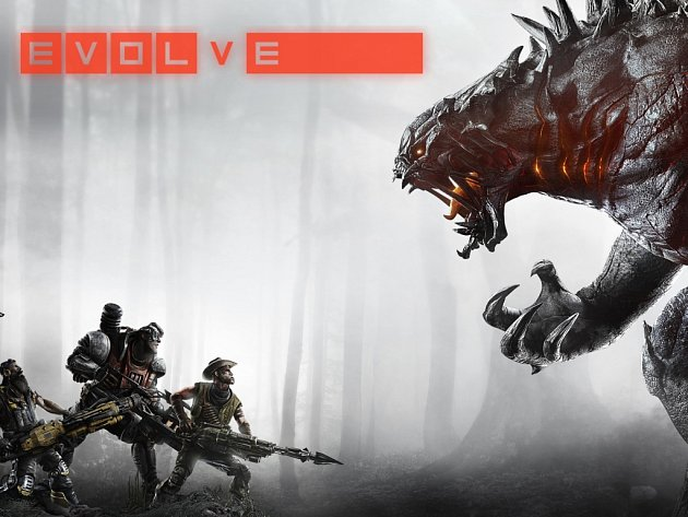 Počítačová hra Evolve.
