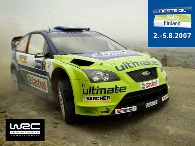 Marcus Grönholm je největším favoritem Finské rallye.