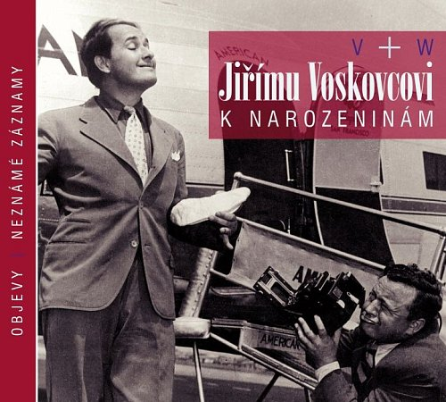 Vpátek 15.června 2012vychází CD, které poprvé zveřejní neznámé zvukové dopisy Jiřího Voskovce a další objevy ineznámé záznamy legendární dvojice V+W.