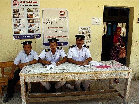 Prezidentské volby v Egyptě.
