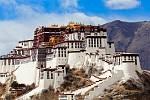 Palác Potála v tibetské Lhase