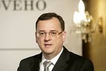 Premiér Petr Nečas představil v úterý 21. května 2013 v Praze na konferenci Budoucnost českého důchodového systému 2. pilíř důchodového spoření.