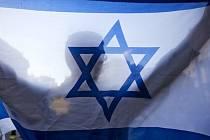Izraelská vlajka - ilustrační foto.