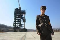Severokorejská raketová základna Sohae