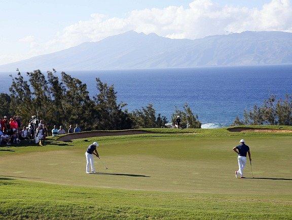 Jordan Spieth na Havaji