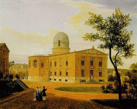 Berlínská observatoř, ve které byl v noci ze 23. září na 24. září roku 1846 poprvé pozorován Neptun.