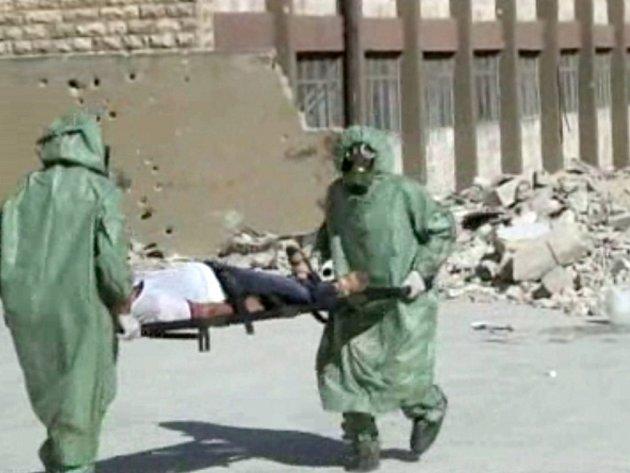 """Používání chemických zbraní v syrském konfliktu se stává """"rutinní"""" záležitostí, oznámil dnes zástupce Spojených států při Organizaci pro zákaz chemických zbraní (OPCW)."""