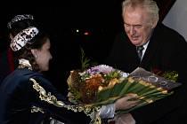 Prezident Miloš Zeman přiletěl 25. listopadu do Dušanbe na návštěvu Tádžikistánu.