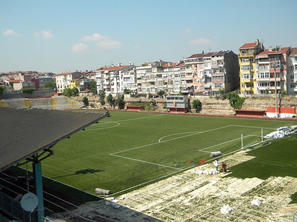 Vefa Stadium byl postaven na místě bývalé byzantské cisterny.