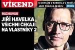 Rozhovor s Jiřím Havelkou. Poutání na magazín Víkend