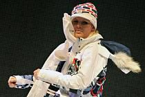 Prezentace kolekce olympijského oblečení firmy Alpine Pro.