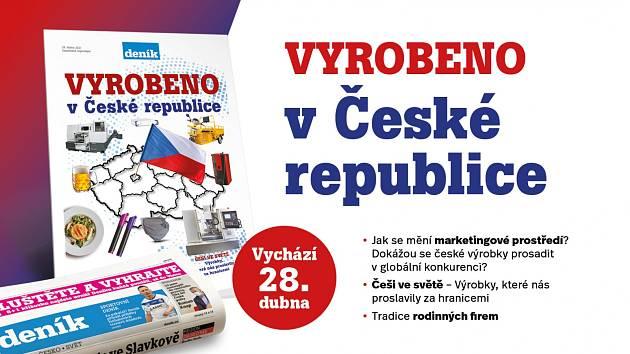 Vyrobeno v ČR. Mimořádná příloha Deníku