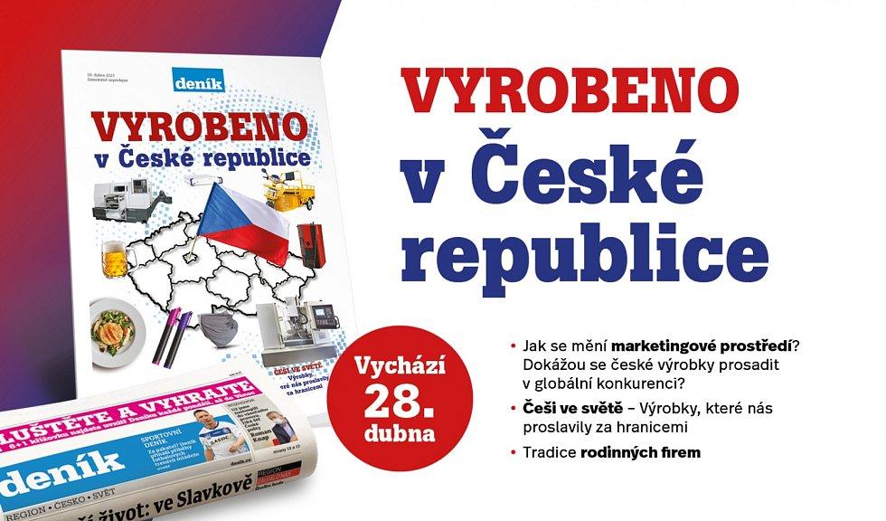 Vyrobeno v ČR. Mimořádná příloha ve středečním vydání Deníku