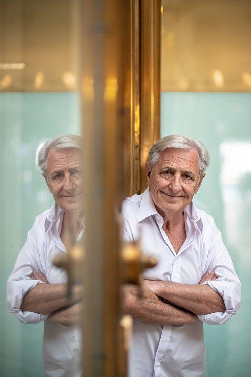 Karel Heřmánek: Večírků už bylo dost. Jak člověk stárne, už to tolik nevyhledává.