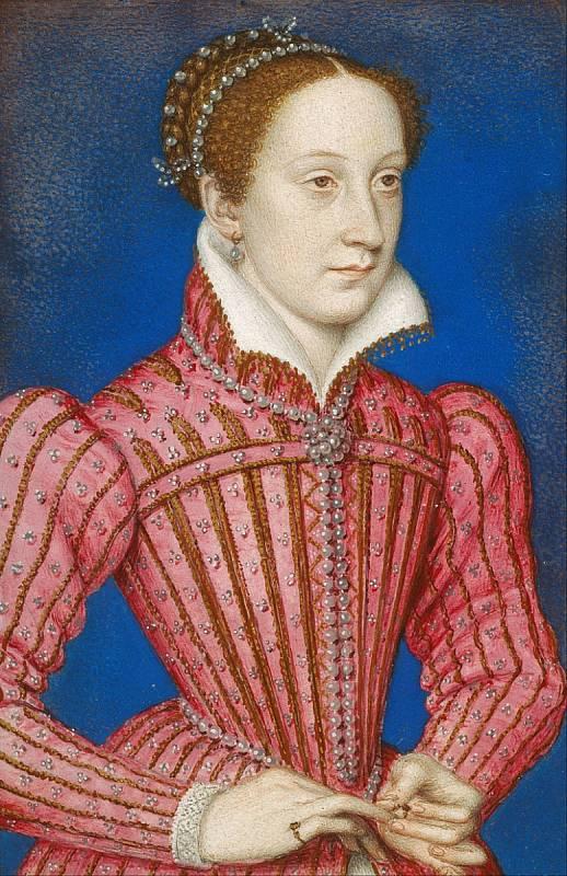 Marie Stuartovna, skotská a francouzská královna.