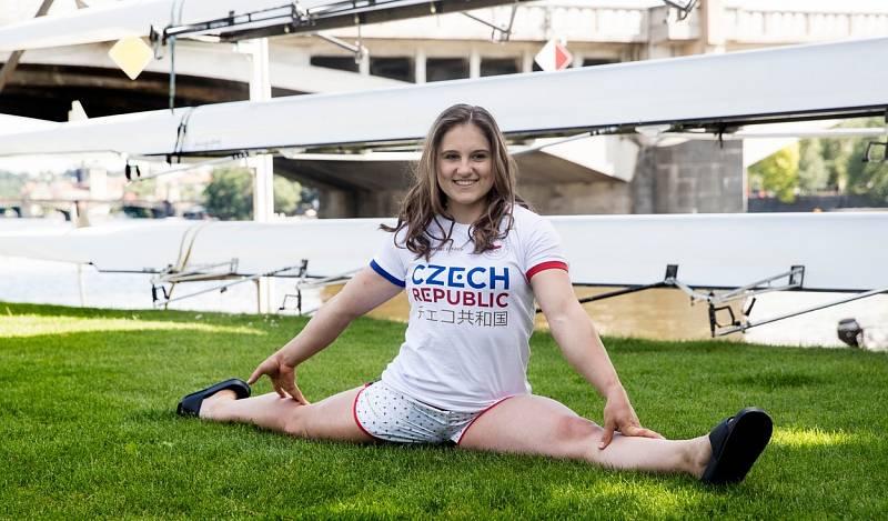 Sportovní gymnastka Aneta Holasová