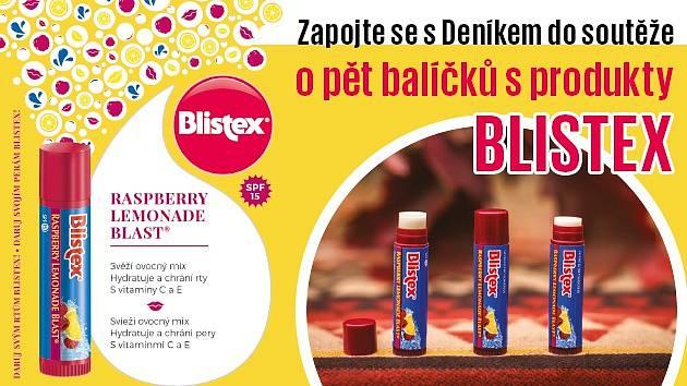 Soutěžte s Deníkem o balíčky s produkty Blistex