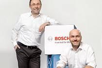Českobudějovickou společnost Robert Bosch vedou jednatelé Václav Pixa (vlevo) a Milan Šlachta.