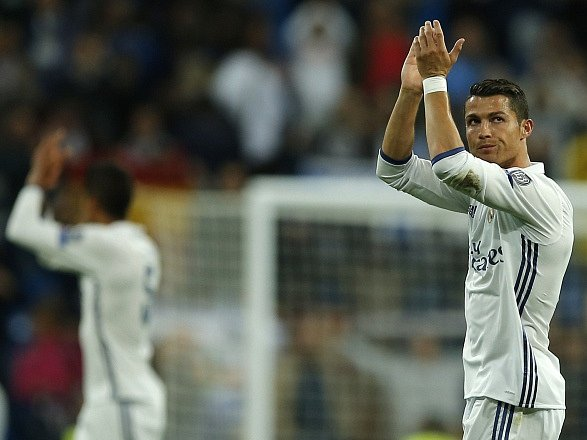 Cristiano Ronaldo po výhře nad Sportingem