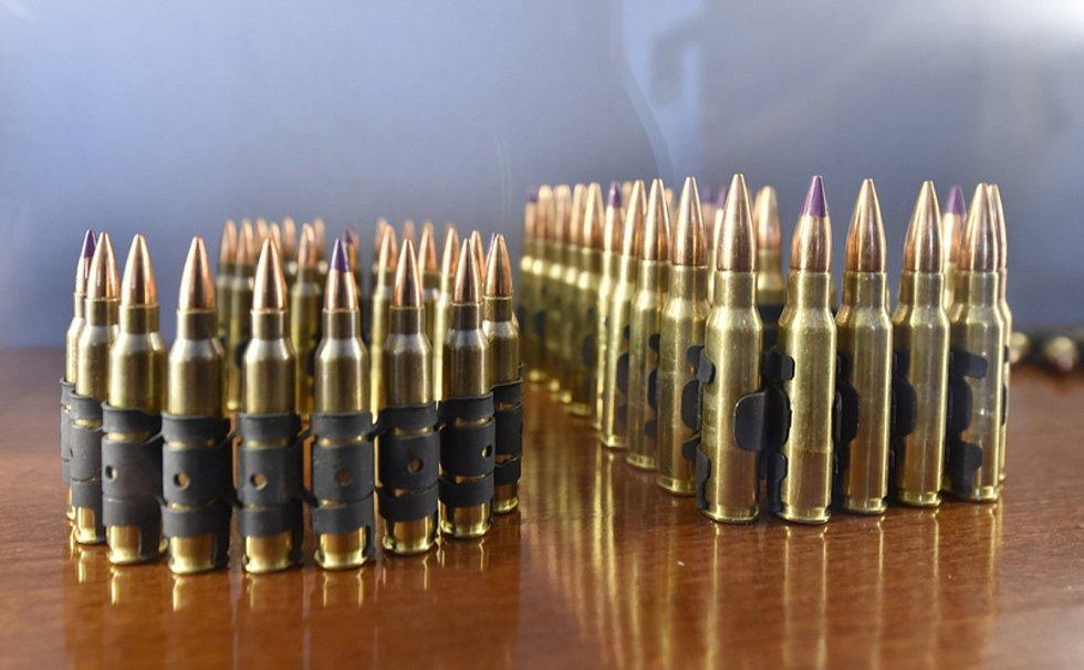 Zbraně, munice - ilustrační foto