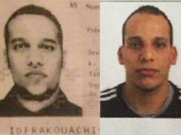 Bratři Said a Chérif Kouachiové.