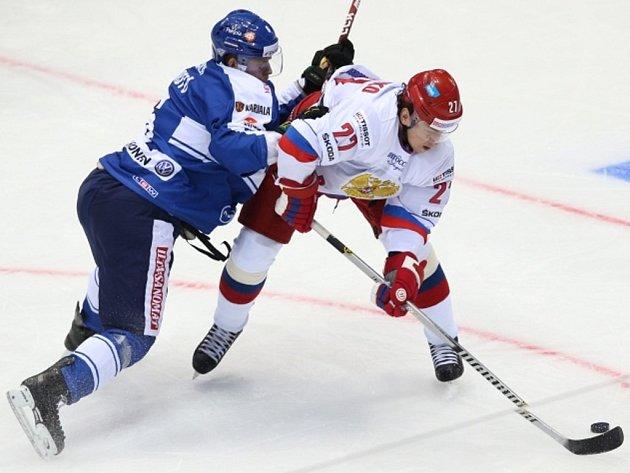 Tommi Kivisto z Finska (vlevo) a Igor Grigorenko z Ruska.