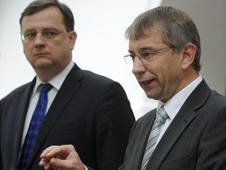 Petr Nečas a Jaromír Drábek