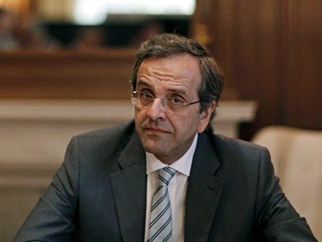 Řecký premiér Antonis Samaras.