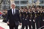 Slovenský expremiér Fico tvrdí, že byl obviněn za vyslovení názoru