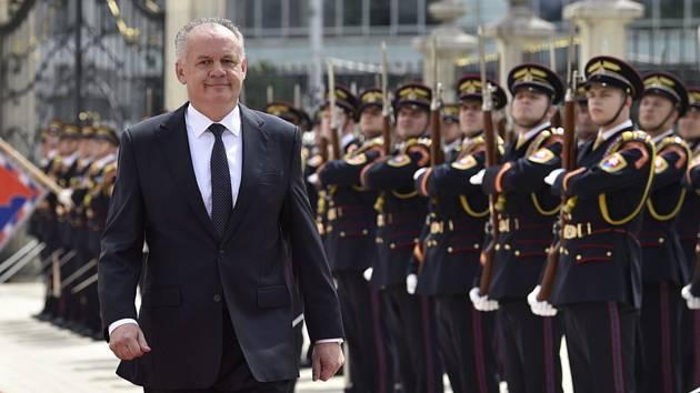 Bývalý slovenský prezident Andrej Kiska