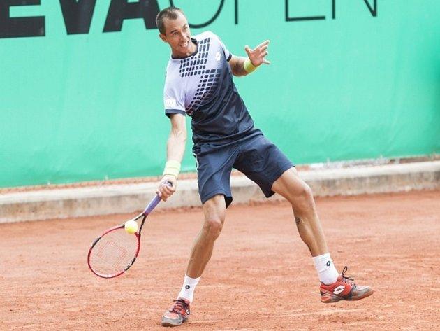 Lukáš Rosol na turnaji v Ženevě.