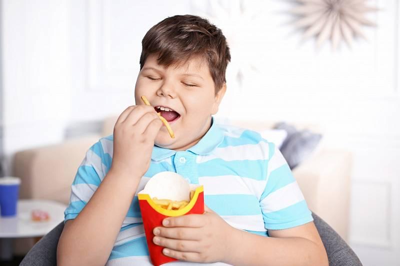 Obézních dětí přibývá.