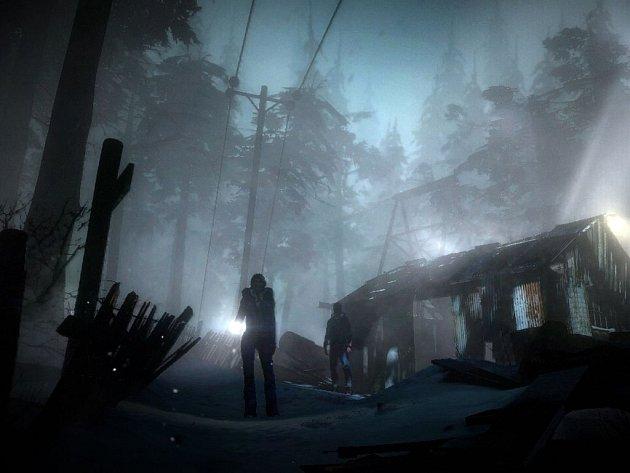 Počítačová hra Until Dawn.