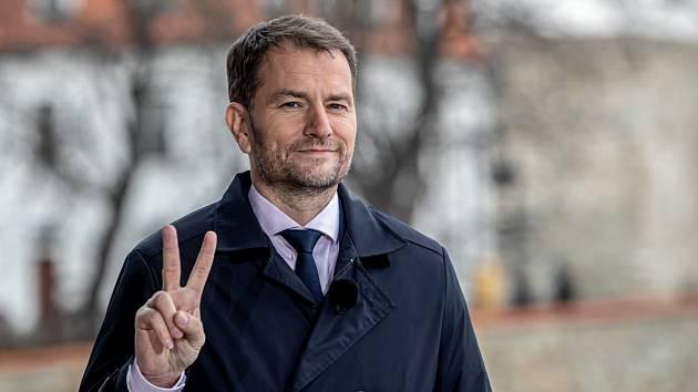 Lídr strany Obyčejní lidé a vítěz slovenských voleb Igor Matovič
