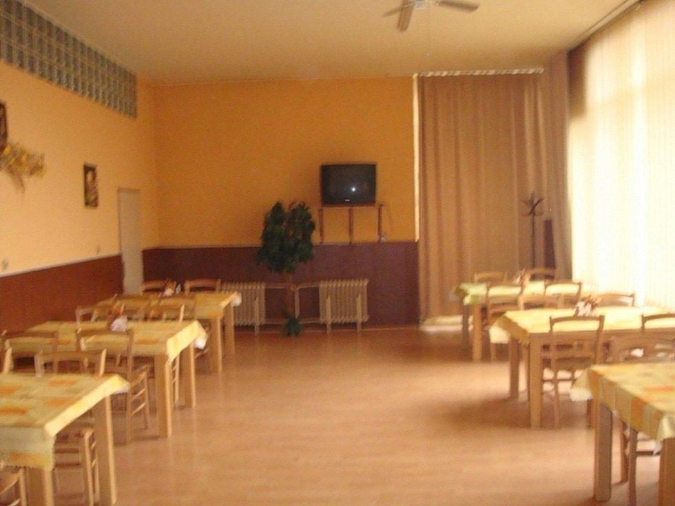 Interiér restaurace Družba. Ilustrační foto